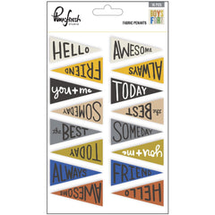 Boys Fort Fabric Penants Die Cuts-Pinkfresh Studio
