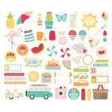 Summer Days Bits & Pieces-Simple Stories