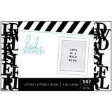 "Black .5""  Alphabet-Heidi Swapp Letterboard life is a wild ride"