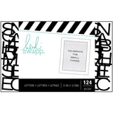 "Black  .5""  Alphabet-Heidi Swapp Letterboard small things"