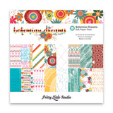 Bohemian Dreams 8x8 Paper Pack-Pretty Little Studio