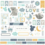 Element Stickers-Photo Play Snuggle Up Baby Boy