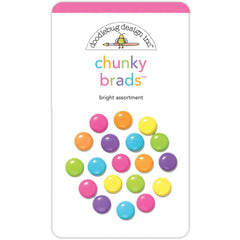 Fairy Tales Bright Chunky Brads-Doodlebug