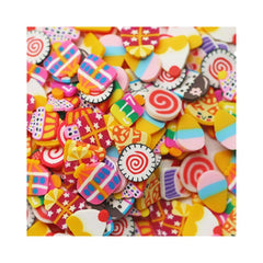 Sweet Candies Slices Shaker Elements-Dress My Craft