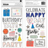 Celebrate Phrase Thickers-Hooray-Crate Paper