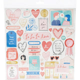 Chipboard Stickers-LaLaLove-Crate Paper