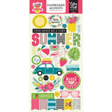Summer Fun Chipboard Stickers-Echo Park