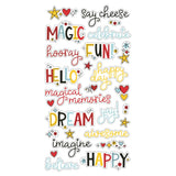 Chipboard Word Stickers-Simple Stories-Say Cheese 4