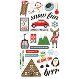 Sub Zero 6x12 Chipboard Stickers-Simple Stories