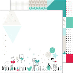 Christmas Parade 12x12 Paper-Pinkfresh Studio Christmas Wishes