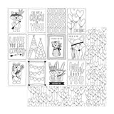 Color Me Love Me 12x12 Paper Photo Play Color Play Wild Love