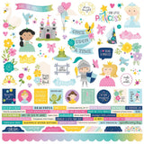 Combo Cardstock Stickers-Little Princess-Simple Stories