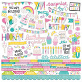 Combo Cardstock Stickers-Simple Stories Magical Birthday