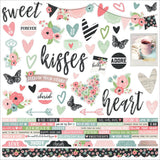 Romance Combo Cardstock Stickers-Simple Stories