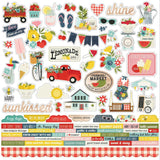 Combo Cardstock Stickers-Simple Stories Summer Farmhouse