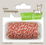 Coral Hemp Cord Lawn Trimmings Twine-Lawn Fawn