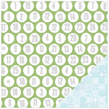 Countdown 12x12 Double Sided Paper-Studio Calico Magical