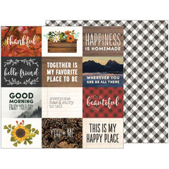 Cozy Quotes 12x12 Paper-Pebbles Jen Hadfield Warm & Cozy