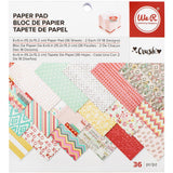 Crush 6x6 Paper Pad-We R Memory Keepers Valentine