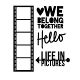 Life In Pictures Free Cut File