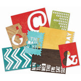 Sn@p Cuts Die Cut Cardstock -Simple Stories Daily Grind