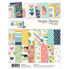Domestic Bliss 6x8 Paper Pad-Simple Stories
