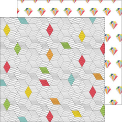 Diamond Pops 12x12 Paper-Pinkfresh Studio Life Noted