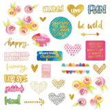 Make Your Mark Paper Pieces Die Cuts-Bella Blvd
