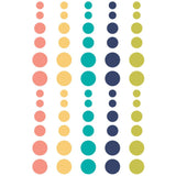 Domestic Bliss Enamel Dots Stickers -Simple Stories