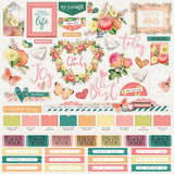Combo Cardstock Stickers-Simple Stories Simple Vintage Garden District