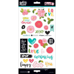 You Are Loved Elements Stickers-Bella Blvd Illustrated Faith