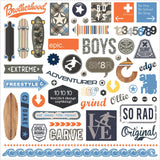 Freestyle Element Stickers-Photo Play Paper