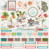 Combo Sticker Sheet-Simple Stories Simple Vintage Coastal