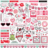 Love Notes Element Stickers-Photo Play