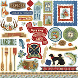 Lakeside Elements Stickers Photo Play