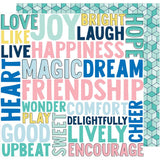 Encourage Wonder 12x12 Paper-Shimelle Little By Little