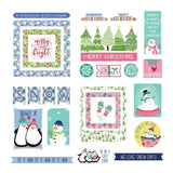 Ephemera Die Cuts-Frosty Friends-Photo Play Paper