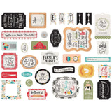 Ephemera Die Cuts-Echo Park Farmhouse Kitchen