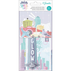 Ephemera Die Cuts-Shimelle Sparkle City