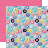 Epic Buttons 12x12 Paper-Echo Park Teen Spirit Girl