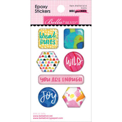 Make Your Mark Icons Epoxy Stickers-Bella Blvd
