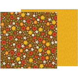 Fall Florals 12x12 Paper-Pebbles-Woodland Forest