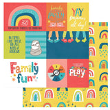 Family Fun 12x12 Paper Photo Play We Can Just Stay Home