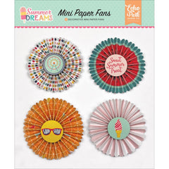 Summer Dreams Paper Fans-Echo Park
