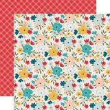 Farmhouse Floral 12x12 Paper-Echo Park Farmhouse Kitchen