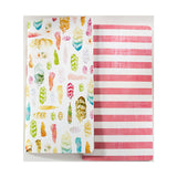 Feather & Stripe Traveler's Notebook Notepad Set-Webster's Pages Color Crush