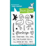 Flamingo Together Stamps-Lawn Fawn