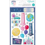 Sticker and Washi Book Folder-Shimelle Sparkle City