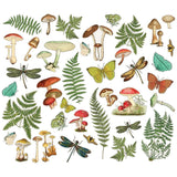 Foliage Bits-Simple Stories Vintage Great Escape