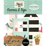 Frames & Tags-Carta Bella Flower Market